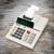 öreg · számológép · mutat · szöveg · kirakat · üzlet - stock fotó © michaklootwijk