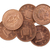 penny coins isolated selective focus stock photo © michaklootwijk