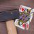 kalapács · törött · kártya · kilenc · szívek · klasszikus - stock fotó © michaklootwijk
