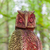 old wooden carved owl stock photo © michaklootwijk