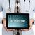 doctor holding tablet   hospital stock photo © michaklootwijk