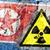 promieniowanie · ostrzeżenie · symbol · człowiek · strony · technologii - zdjęcia stock © michaklootwijk