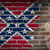 dark brick wall with plaster   confederate flag stock photo © michaklootwijk