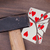 vecchio · giocare · carta · sette · picche · isolato - foto d'archivio © michaklootwijk