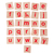 wooden alphabet blocks isolated on white stock photo © michaklootwijk