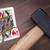 starych · gry · karty · dziewięć · serca · odizolowany - zdjęcia stock © michaklootwijk
