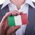 biznesmen · karty · papieru · efekt - zdjęcia stock © michaklootwijk