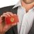 ビジネスマン · 名刺 · モンテネグロ · フラグ · ワーカー - ストックフォト © michaklootwijk