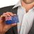 ビジネスマン · 名刺 · フラグ · ニュージーランド · ワーカー - ストックフォト © michaklootwijk