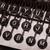 máquina · de · escrever · boletim · informativo · velho · genuíno · fonte · fundo - foto stock © michaklootwijk