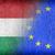 Węgry · europejski · banderą · Pokaż · Unii · żółty - zdjęcia stock © michaklootwijk