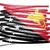 карта · флаг · Папуа-Новая · Гвинея · изолированный · белый - Сток-фото © michaklootwijk