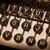daktilo · bülteni · eski · gerçek · arka · plan - stok fotoğraf © michaklootwijk