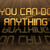 gold quote   you can do anything stock photo © michaklootwijk