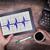 elektrokardiogram · tabletka · opieki · zdrowotnej · bicie · serca · monitor · medycznych - zdjęcia stock © michaklootwijk