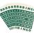 groene · bingo · kaarten · geïsoleerd · witte · kleur - stockfoto © michaklootwijk
