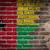 bandeira · Guiné · parede · de · tijolos · pintado · grunge · textura - foto stock © michaklootwijk