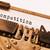 bağbozumu · eski · daktilo · rekabet · baskı - stok fotoğraf © michaklootwijk