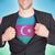 zakenman · opening · pak · shirt · vlag · Azerbeidzjan - stockfoto © michaklootwijk