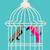 domu · niebieski · ptaków · linii - zdjęcia stock © MichalEyal