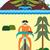 rysunek · człowiek · pustyni · górskich - zdjęcia stock © MichalEyal