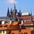 Prague roofs stock photo © michey
