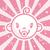 Pink Baby Girl stock photo © Mictoon