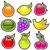 Glossy Fruit Icons stock photo © Mictoon
