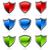 vektor · szett · színes · biztonság · ikon · elszigeteltség - stock fotó © mictoon