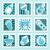 kék · baba · fiú · textúra · boldog · gyermek - stock fotó © mictoon