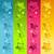 renkli · parlak · Yıldız · sınır · ayarlamak · parti - stok fotoğraf © Mictoon