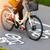 bicicleta · chuva · assinar · viajar · bicicleta - foto stock © mikdam