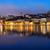 skyline · Stockholm · Zweden · nacht · oude · binnenstad · zonsondergang - stockfoto © mikdam