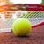 テニスボール · テニス · 粘土 · 裁判所 · スポーツ · フィットネス - ストックフォト © mikdam