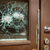 割れたガラス · フロントドア · 外 · 家 · ホーム · ドア - ストックフォト © mikdam