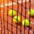 citromsárga · teniszlabda · net · bíróság · kint · nap - stock fotó © mikdam