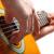 gitáros · játszik · gitár · hang · zenei · stúdió · zene - stock fotó © mikdam