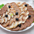 Appetizing meat slices is spread out to plate stock photo © mikhail_ulyannik