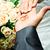 結婚指輪 · 結婚式 · 手 · 結婚式 · 花嫁 · 白 - ストックフォト © mikhail_ulyannik