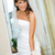 beautiful bride standing and smile in white dress stock photo © mikhail_ulyannik
