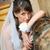 Portrait of the pensive bride in home environment stock photo © mikhail_ulyannik