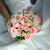 noiva · vestido · branco · buquê · rosas · mulher - foto stock © mikhail_ulyannik