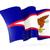 bandeira · americana · fundo · bandeira · estrela · branco · país - foto stock © mikhailmishchenko