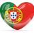 愛 · ポルトガル · 中心 · フラグ · アイコン · シンボル - ストックフォト © mikhailmishchenko