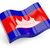 3d flag of Cambodia stock photo © MikhailMishchenko