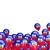 vliegen · ballonnen · vlag · Haïti · geïsoleerd · witte - stockfoto © mikhailmishchenko
