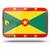 icon · vlag · Grenada · glanzend · wereld · teken - stockfoto © mikhailmishchenko