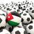 futebol · bandeira · Jordânia · ilustração · 3d · futebol · esportes - foto stock © mikhailmishchenko
