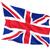 bandiera · Regno · Unito · battenti · vento · pezzi · panno - foto d'archivio © mikhailmishchenko