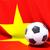 футбола · флаг · Вьетнам · 3d · иллюстрации · Футбол · спорт - Сток-фото © mikhailmishchenko